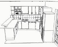 navrhy kuchyne
